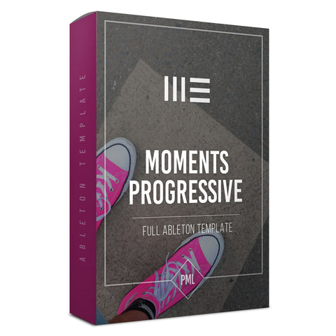 Moments - Progressive House Ableton Template