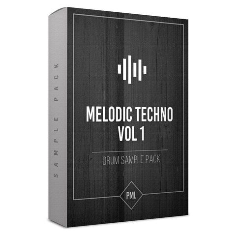 Melodic Techno Vol.1 - Drum Sample Pack