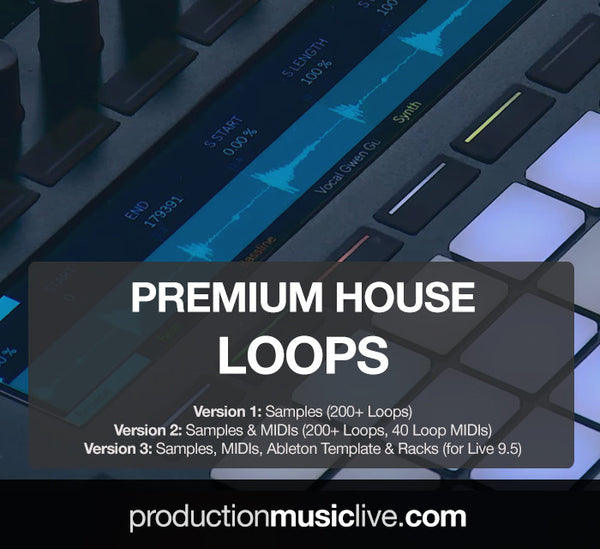 Premium House Loops + Loop Midis