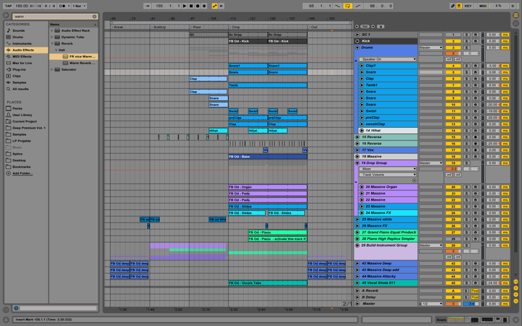 Future Bass Ableton Template Odesza inspired