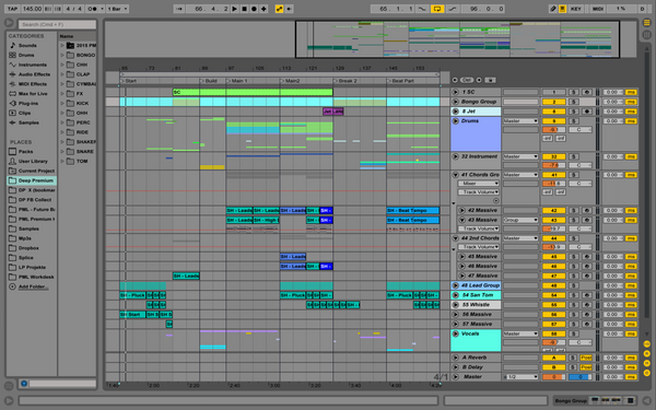 San Ho Low - Ableton Template