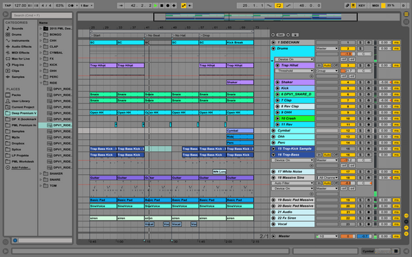 Malone Style - Ableton Template