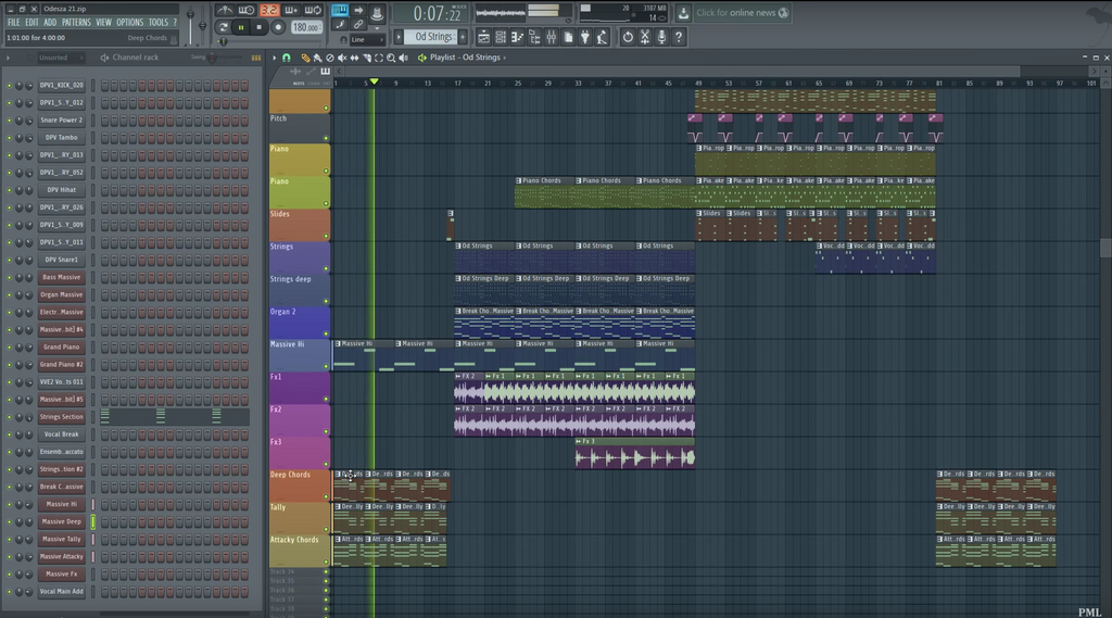 Trap Fl Studio Template
