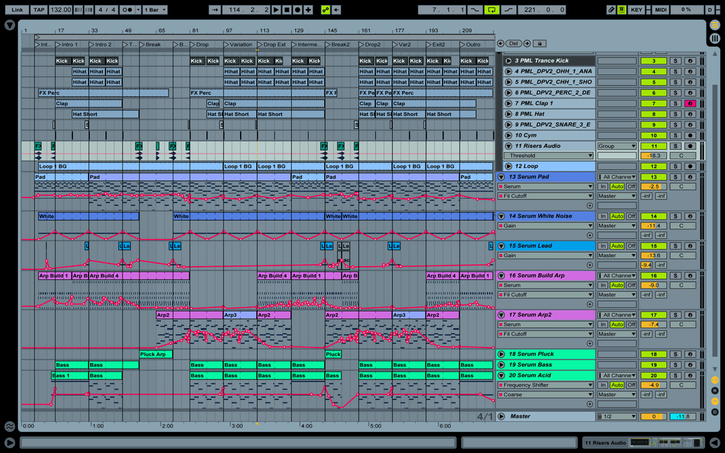 Classic Uplifting Trance - Ableton Template