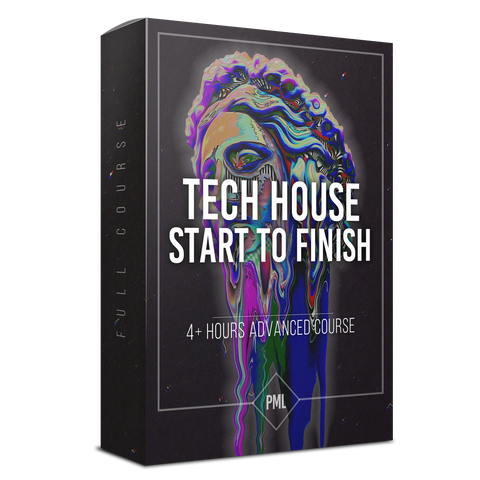 Tech House from Start to Finish Course in Ableton Live