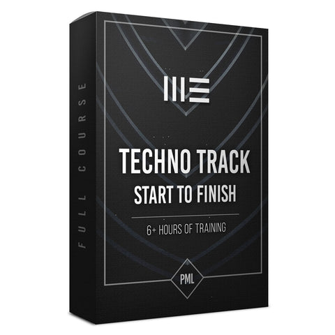 Course: Techno Track from Start To Finish with Ableton Live 10