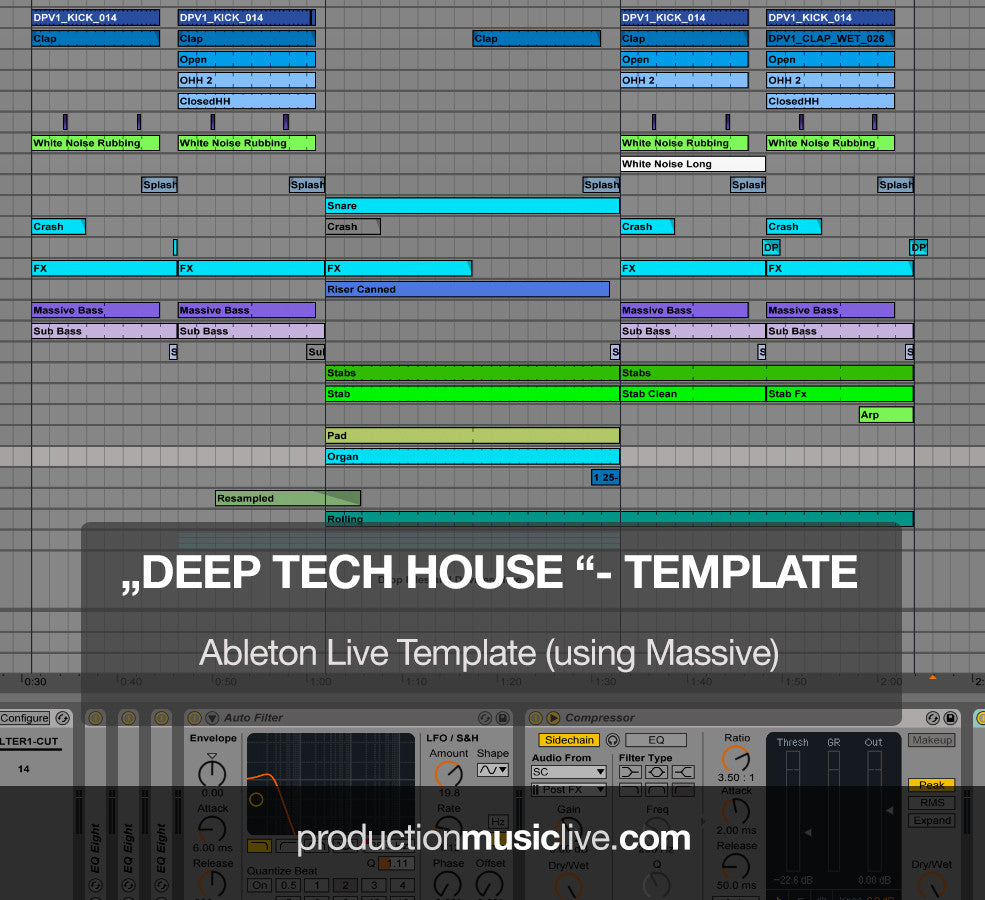 Deep Tech House - Ableton Template