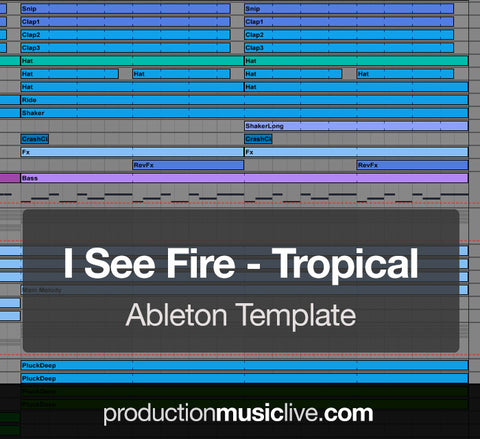 I See Fire - Ableton Template