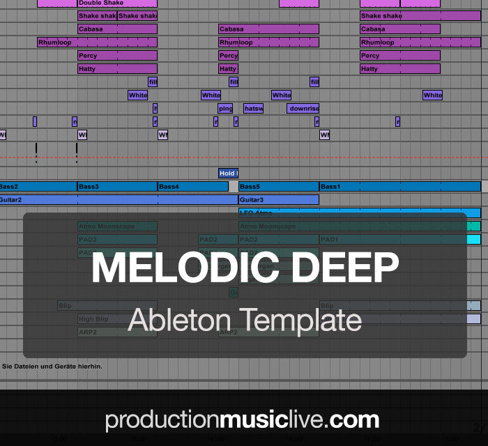Melodic Deep House - Ableton Template