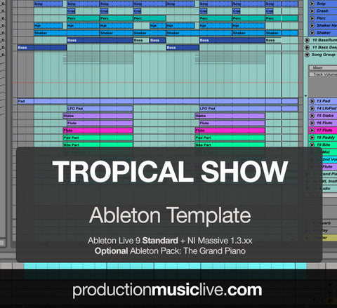 Tropical Show - Ableton Template