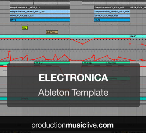 Electronica - Ableton Template