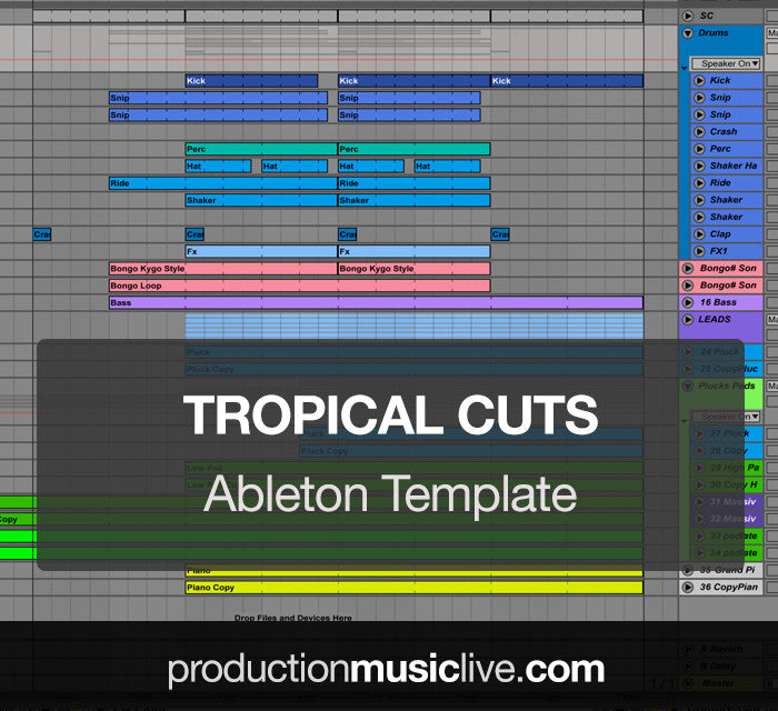 Tropical Cuts - Ableton Template