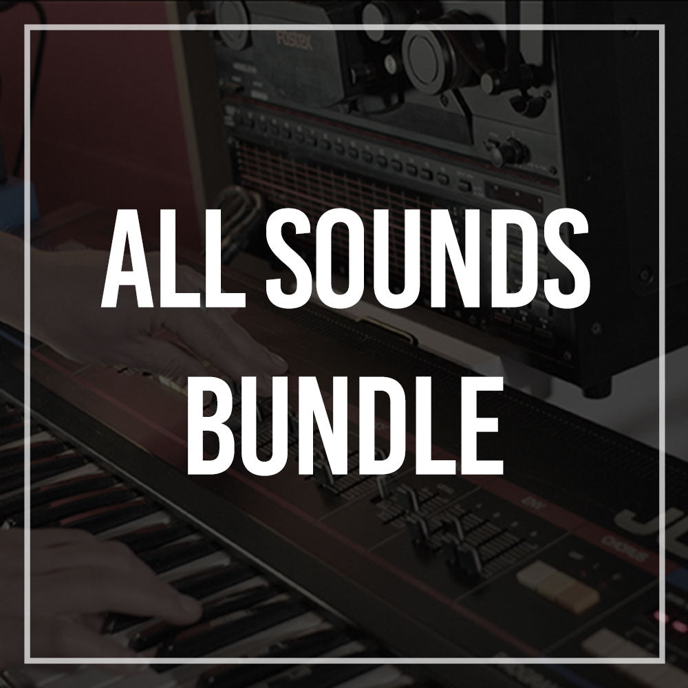 "All Sounds - ""You're buying the studio"" (Save 65% on single prices)"