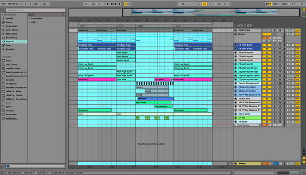 Carmack Styled - Ableton Template