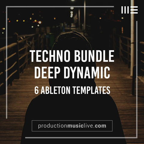Deep Dynamic Pack - 6 Templates & 2 Preset Packs + Midi