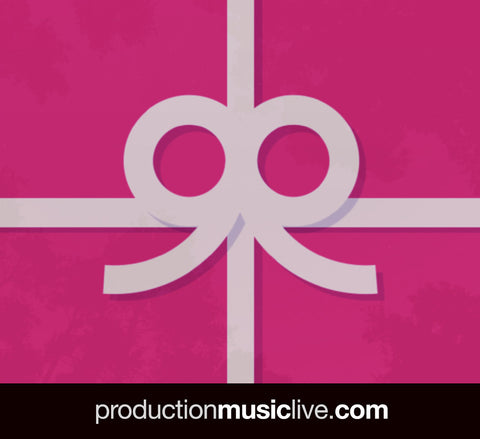 Gift Card - Production Music Live