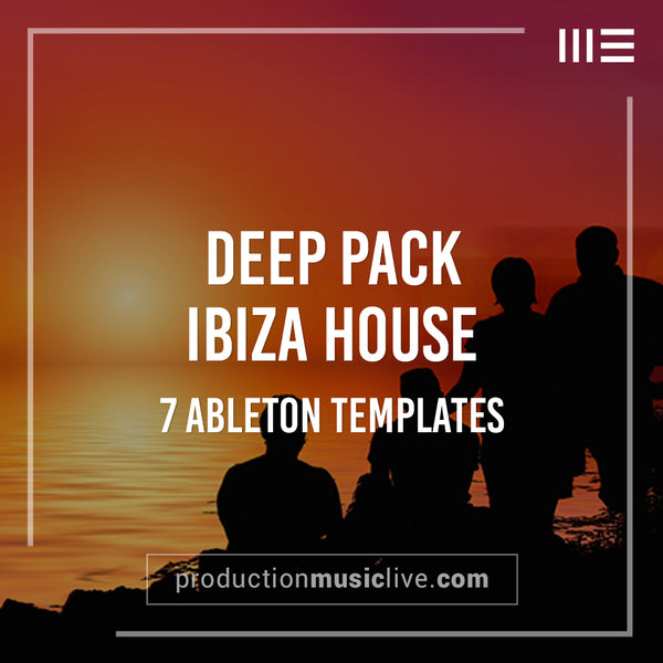 Ibiza Deep Pack - 7 Templates & Massive Preset Pack + MIDI + Drum Samples