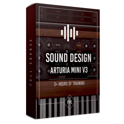 Course: How To and 'Analog' Sound Design with Arturia MINI V3
