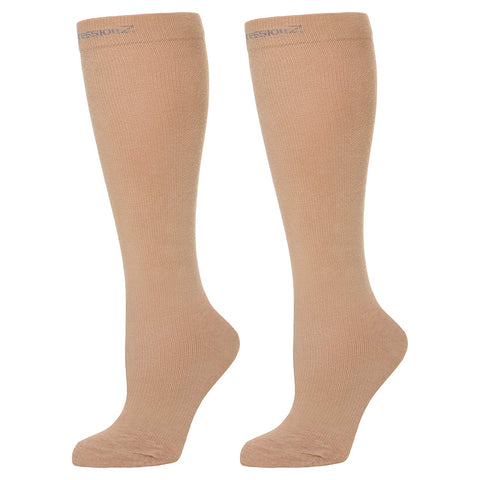 Compression Socks (20-30 mmHg) - Pink