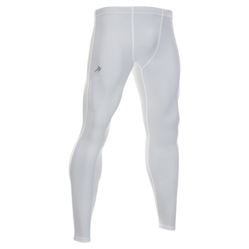 Men's Compression Pants - White