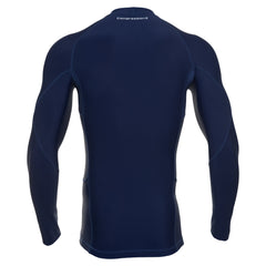Men's Compression Long Sleeve Shirt - Navy Blue