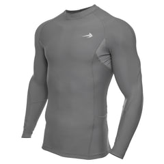 Men's Compression Long Sleeve Shirt - Dark Gray