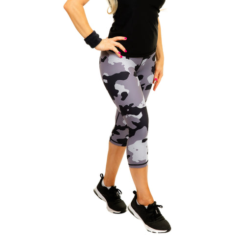 Women's Compression Leggings - Camo