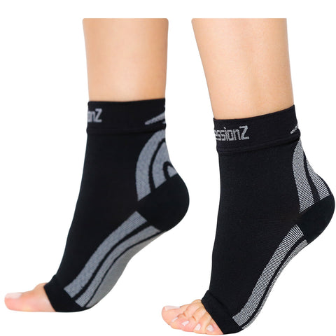 Compression Socks (30-40 mmHg) - Argyle Blue