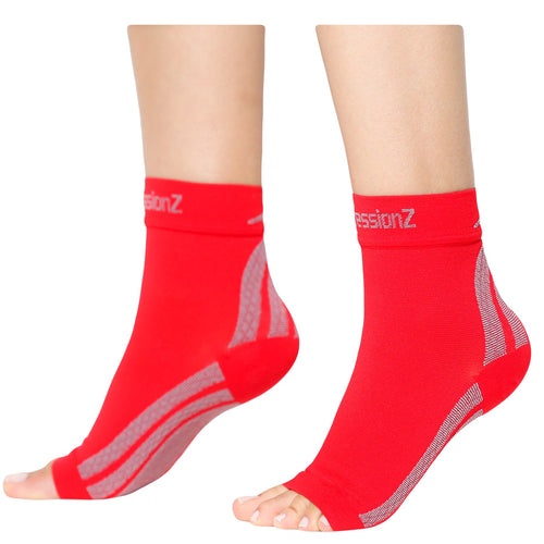 Foot Sleeves - Red