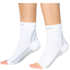 Foot Sleeves - White