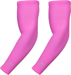 Youth Arm Sleeves - Pink