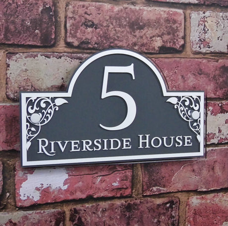 personalised house signs address plaques house sign solutions