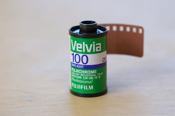 Fujifilm Velvia 100 35mm EXPIRED