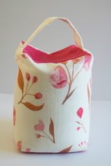 Blossom doorstop with pink and copper blossom