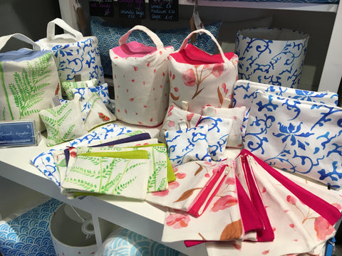 Hannah Knapton cosmetic bags, lavender bags, zip bags and doorstops at the Great Yorkshire Show