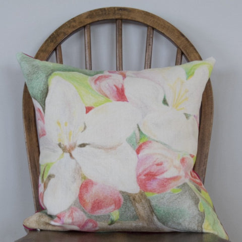 Apple Blossom Pink Cushion
