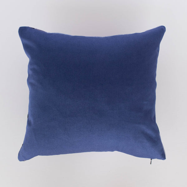 Velvet Small Stormy Skies Cushion