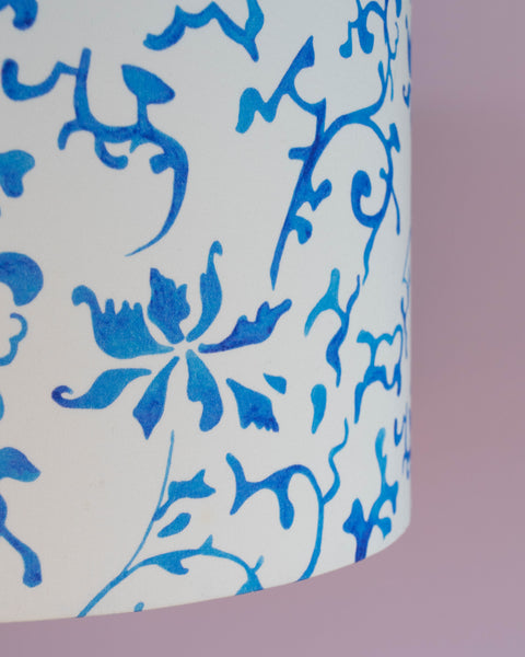 Qing 30cm lampshade close up