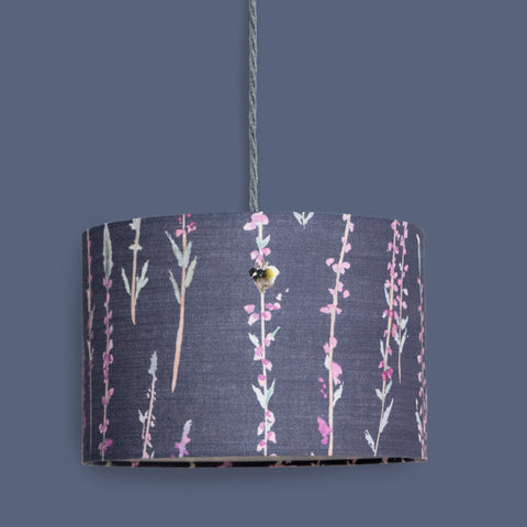 Grey Heather Lampshade