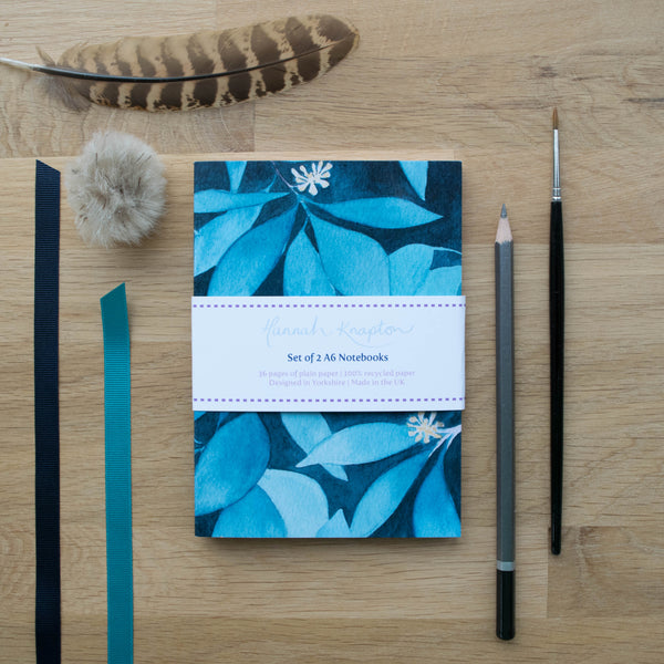 Ivy Set of Two A6 Notebooks