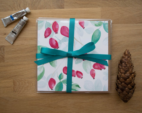 Rosehip and Ivy Card Gift Set