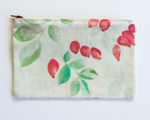 Rosehip Zip Bag Medium