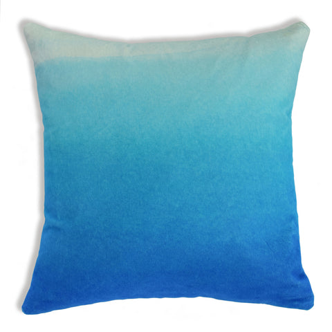 Velvet Sky Ombre Cushion