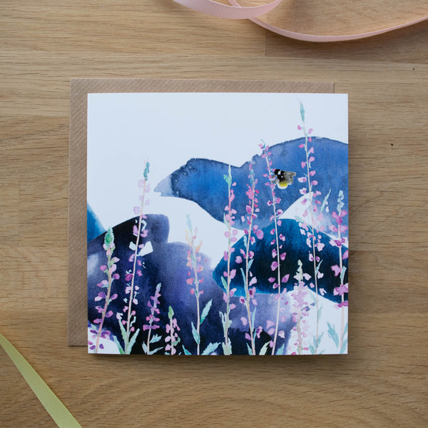 Stormy Heather Card Gift Set