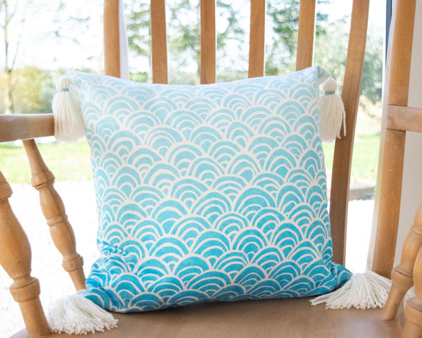 Oriental Tassel Cushion