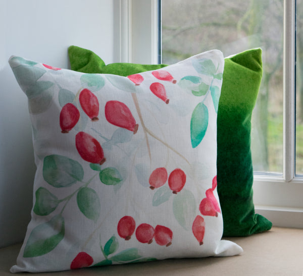 Rosehip Cushion