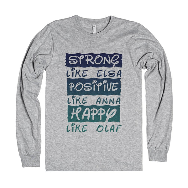 Strong, Positive, And Happy