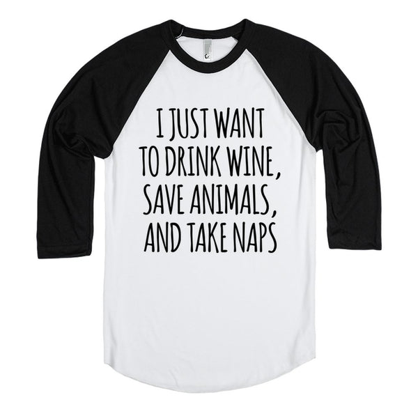 Wine, Animals, And Naps