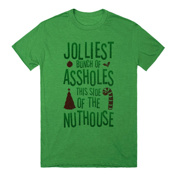 Jolliest Bunch Of Assholes This Side Of The Nuthouse | Red And Green Vintage