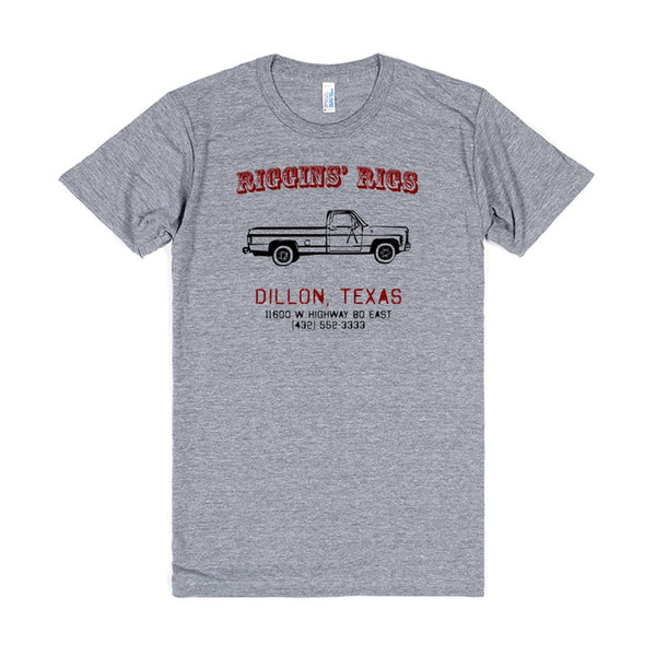 Riggins Rigs Shirt - Red Version - East Dillon Lions Colors